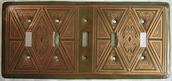 Loughran Five Gang Switchplate