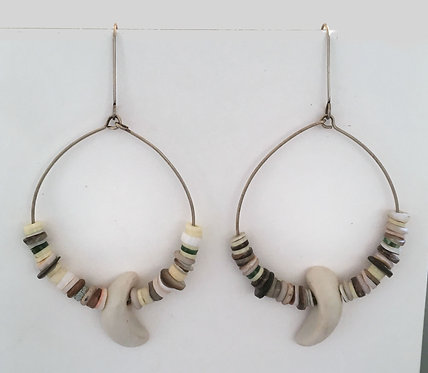Corbett Hoop Dangle Earrings