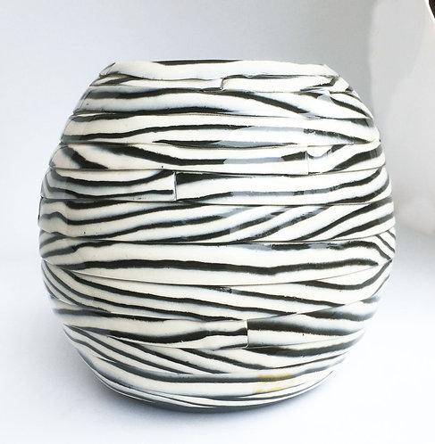 Barbara Cahn Porcelain Ball Vase