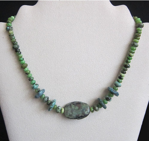 Galloway Jade & Turquoise Necklace