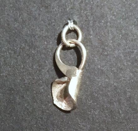Philip Crooks Ginko Sterling Silver Pendant