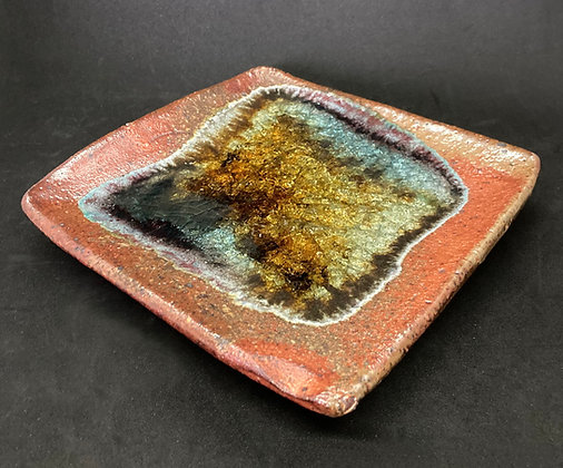 Mike Palmquist Pottery Square Plate