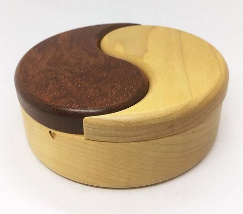 Heartwood Yin Yang Puzzle Box