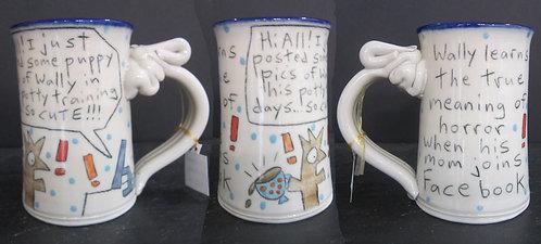 Wallyware Mugs - Facebook