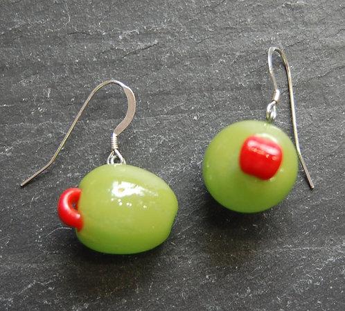 Neher Martini Olive Earrings