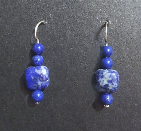 Galloway Semiprecious Stone Earrings