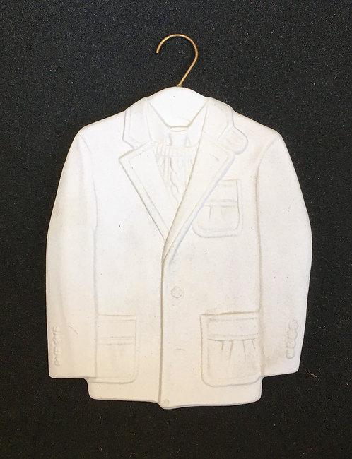 Tannenbaum Porcelain Ornament - Tweed Jacket