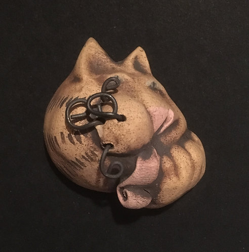 Cindy Butler Jones Cat Scatter Pin