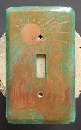 Loughran Switchplates - Heron