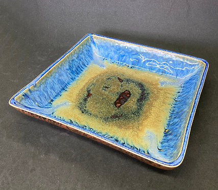 Blanket Creek Pottery Square Plate