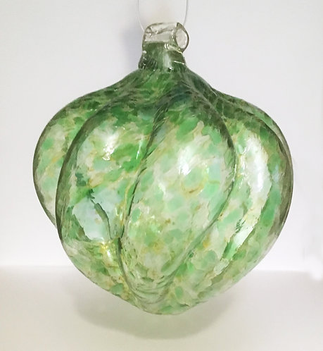 Guerard Glass Ribbed Ornaments
