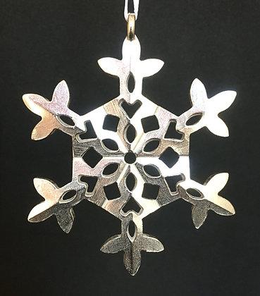 Vilmain Pewter Snowflake Ornament #2