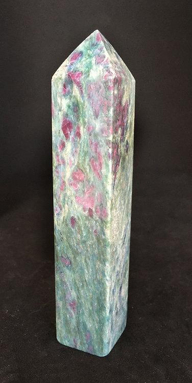 Ruby Zoisite Obelisk