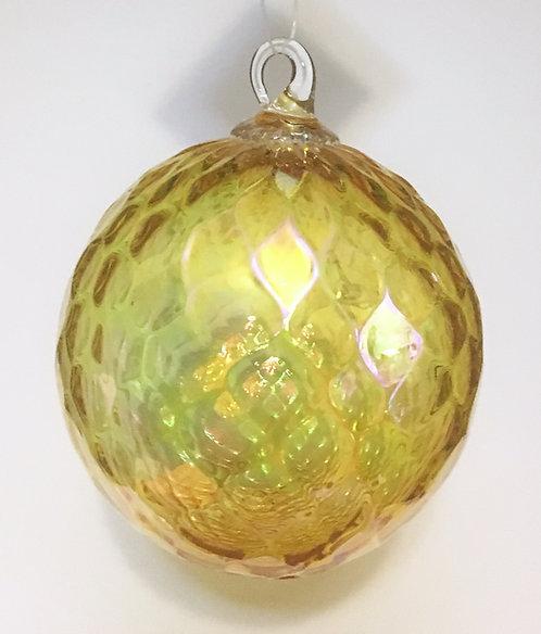 Glass Eye Studio Citrine Ornament