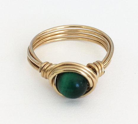 Kallima Vermeil Wire Ring