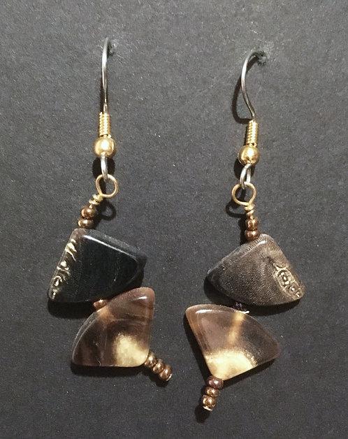 Galloway Horn Earrings