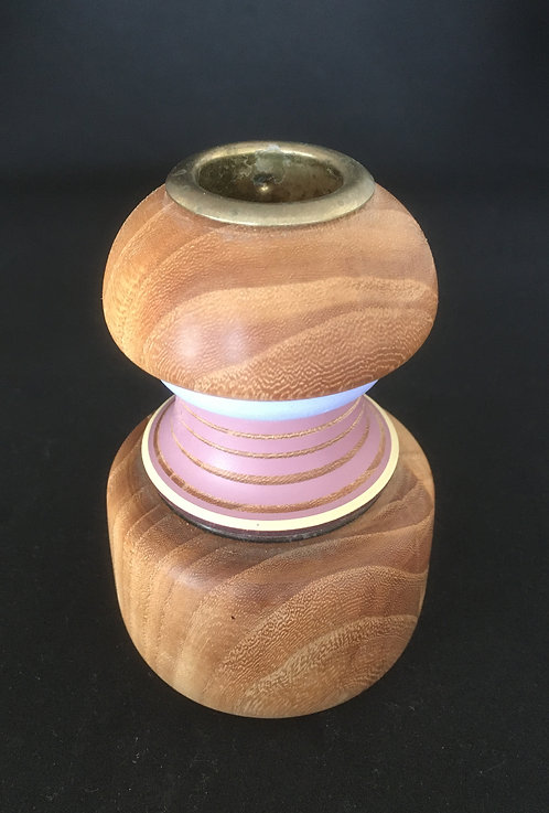 Ditmer Turned Wood Candle Holders