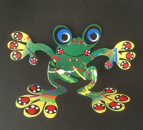 Graham Metal Art - Sitting Frog Magnets