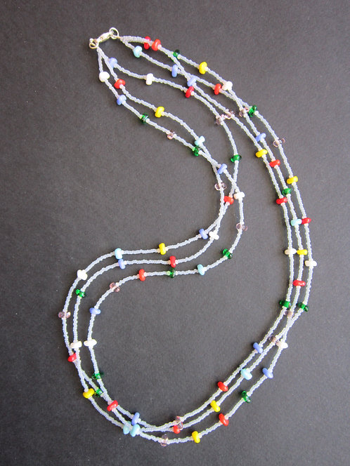 Galloway Beaded Necklace - 3 strands