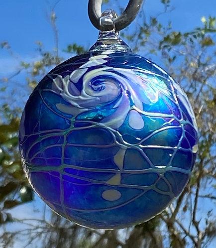 Vines Art Glass Ornaments