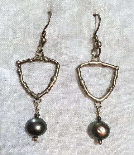 Michelene Berkey Sterling Silver Earrings
