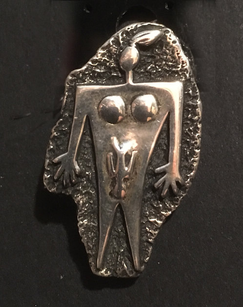 Nomi Rock Art Pendant/Pin