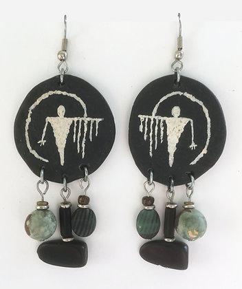 Corbett Ghost Petroglyph Earrings