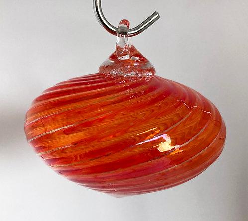 The Furnace Glass Satellite Ornaments