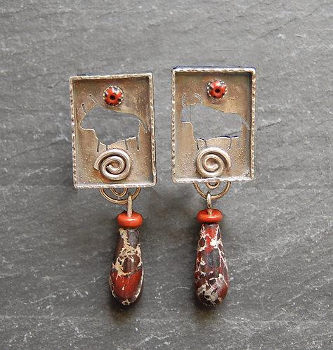Alice Van De Wetering Earrings