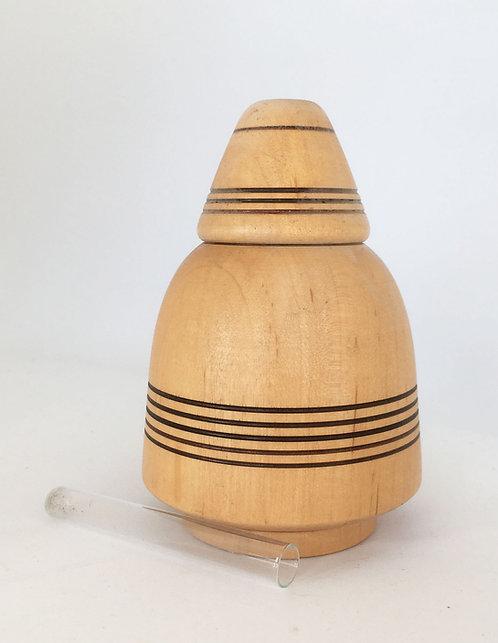 Ditmer Turned Wood Vase