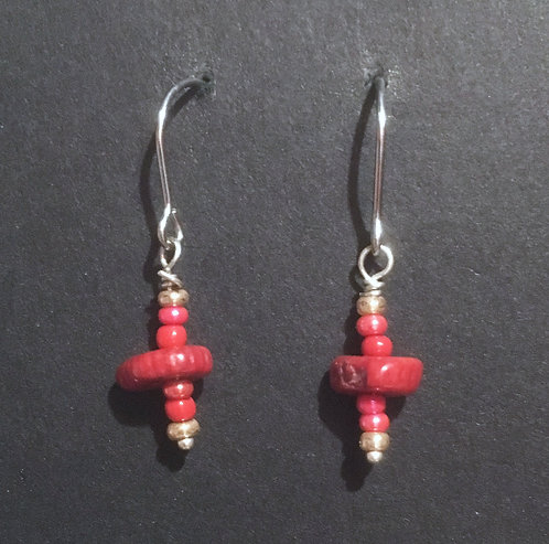 Galloway Coral Earrings