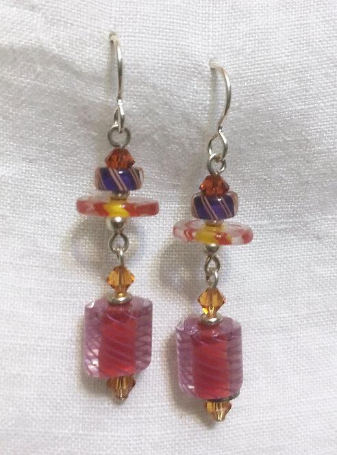 Vitriesses Glass Aphrodite Earrings