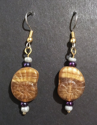 Galloway Czech Glass Earrings