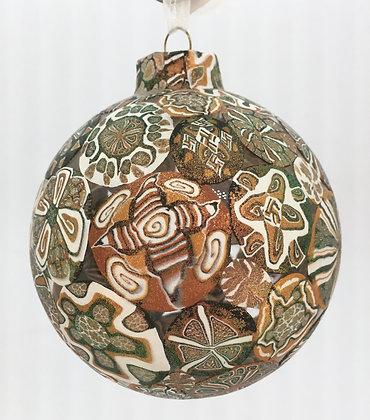 Digital Prism Polymer Clay Ornament