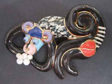 Jewelry 10 Monkey Pin