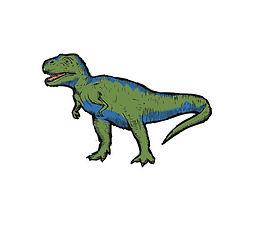 T-Rex Temporary Tattoo
