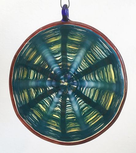 Deerman Hanging Glass Discs