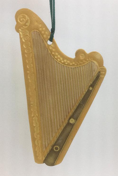 Tewksbury Porcelain Ornament - Harp