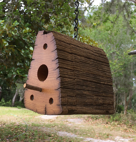 Walnut Hills Chestnut Birdhouse