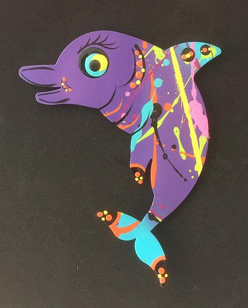Graham Metal Art - Dolphin Magnets