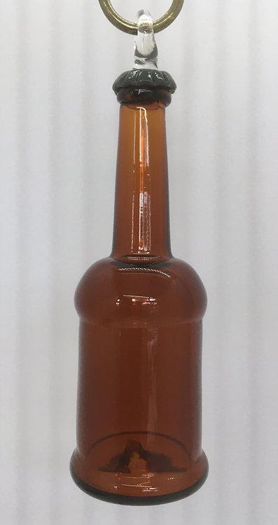 Lost Dog Studios Beer Bottle Ornament