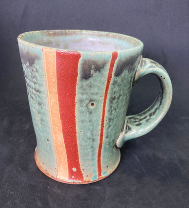 Marty Fielding Banded Mug