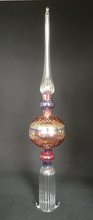 Salusa Glassworks Colored Tree Toppers