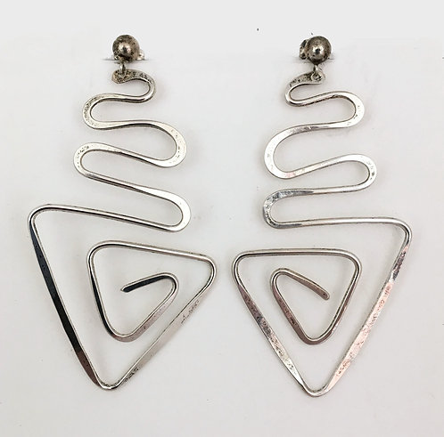 Debbie Doodles Sterling Silver Earrings