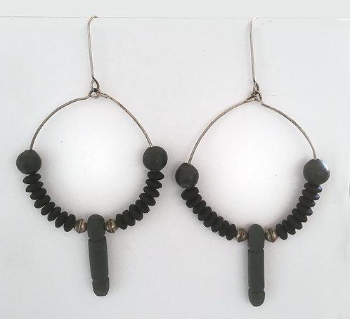 Corbett Hoop Dangle Earrings
