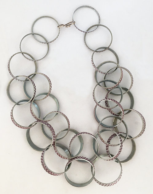 Kindred Spirits Purple Slinky Necklace
