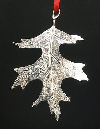 Vilmain Pewter Oak Leaf Ornaments
