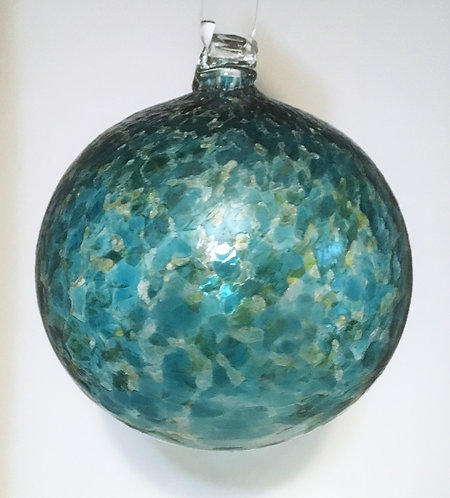 Guerard Glass Round Ornaments