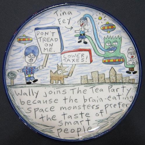 Wallyware Dumb People Plate