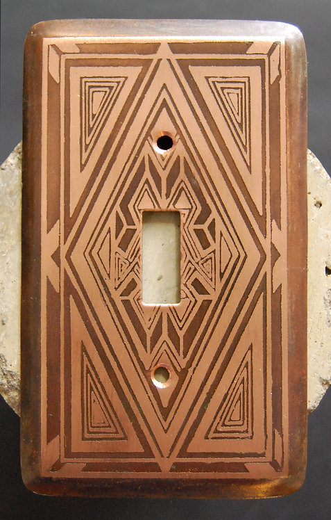Loughran Switchplates - Singles Geometric